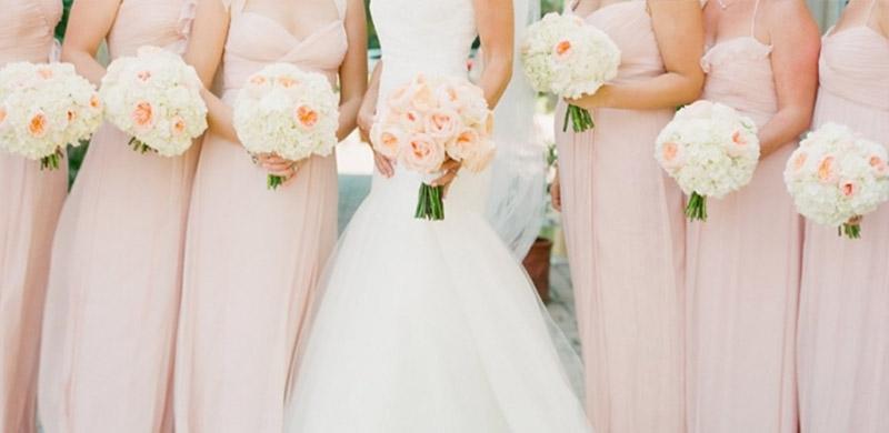 26cef3d105 Pudrowy róż jest jednym z najczęściej wybieranych kolorów na wesele. Nie  bez powodu. Pastele są w tym roku szalenie modne