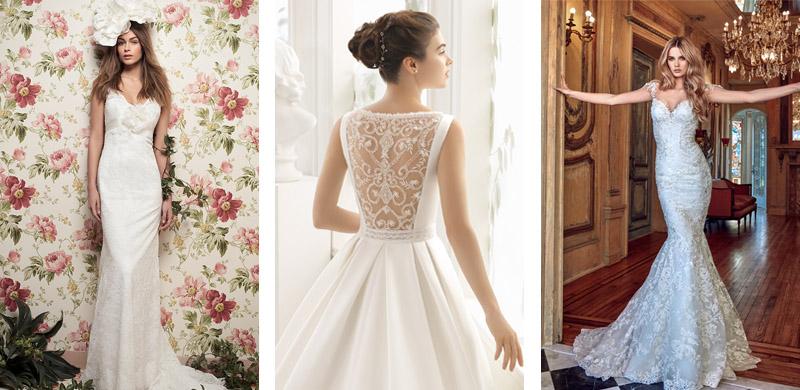 Niewiarygodnie Najpiękniejsze suknie ślubne 2017 - 50 modeli największych RO03