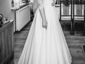 ebdd903076 Oryginalna suknia ślubna.