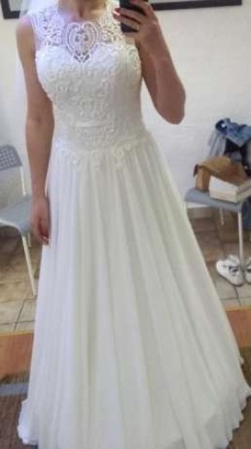 Suknia ślubna Muślin Wesele123pl