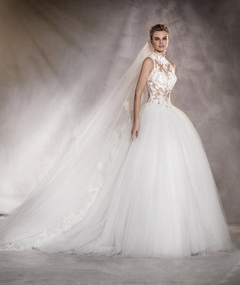 Wszystkie nowe Najpiękniejsze suknie ślubne 2017 - 50 modeli największych ZJ65