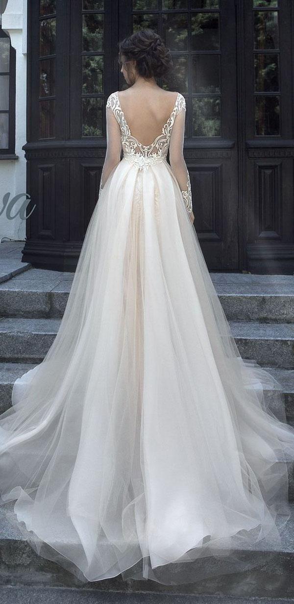 Suknie ślubne Z Odkrytymi Plecami Wesele123pl