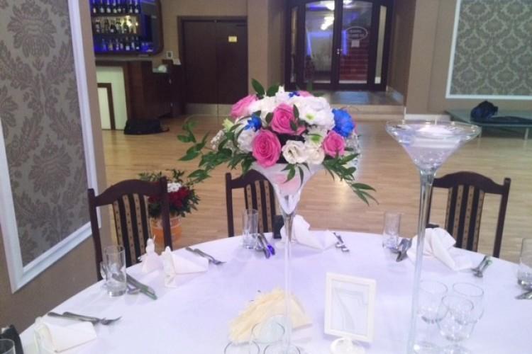 Wiązanka ślubna Kwiaty Na Stoły Weselne Dekoracje ślubne